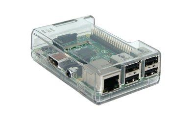 Ontwikkelaars behuizing Raspberry Pi 2/3 Model B transparant