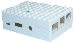 Pi-blox behuizing LEGO voor PI B+, PI 2 en PI 3 wit