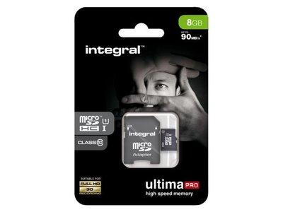 Integral Micro SD 8GB class10